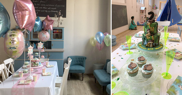 The Magical Cafe : a place to celebrate your child's birthday in Basel
