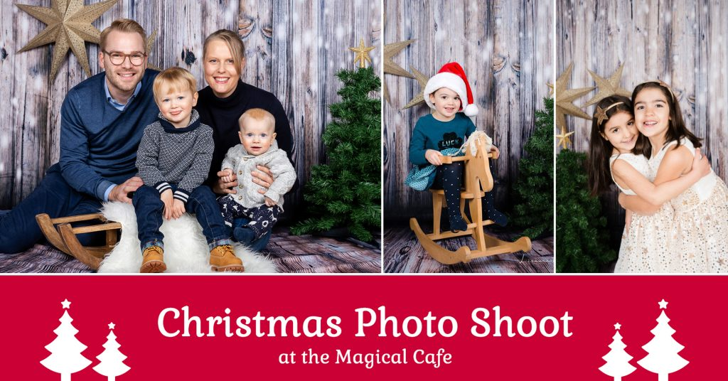 Photoshoot christmas at the magical cafe in basel