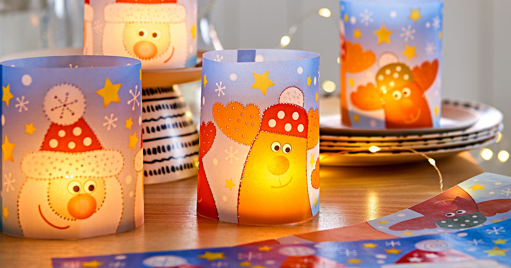 christmas crafts for children at the magical cafe in basel