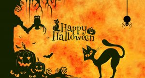 halloween 2017 at the Magical Cafe in Basel