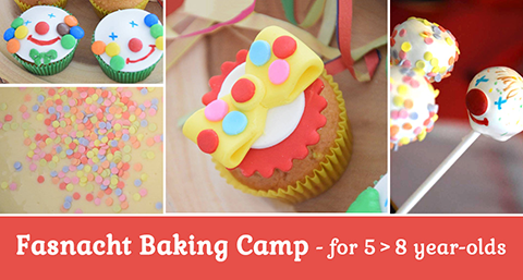 Fasnacht baking camp at the Magical Cafe in Basel