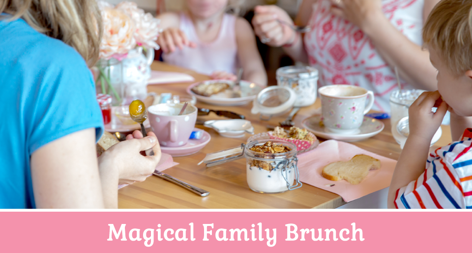 Family Brunch at Magical Cafe in Basel
