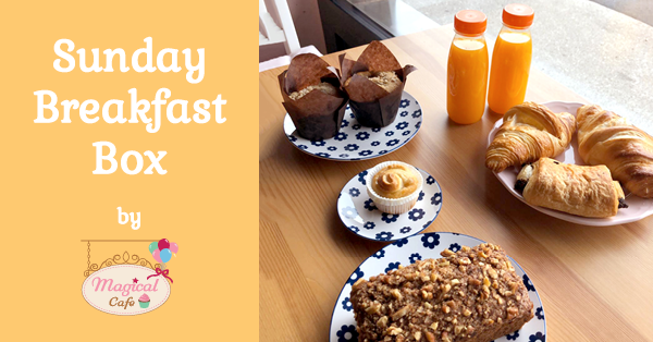 breakfast box - takeaway in Basel - at Magical Cafe