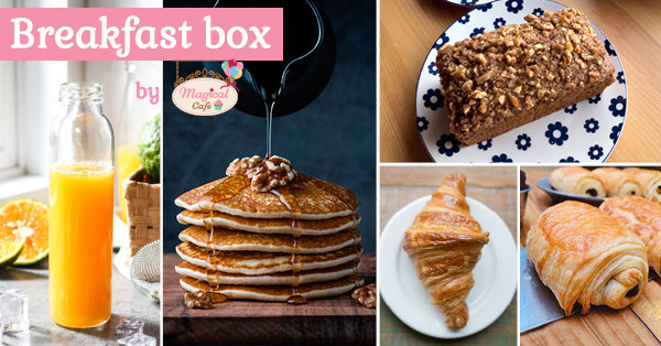 Breakfast Box by Magical Cafe in Basel