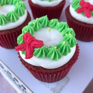 Christmas cupcakes in Basel, by Magical Cafe