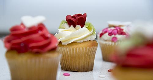 Cupcakes Valentine's Day