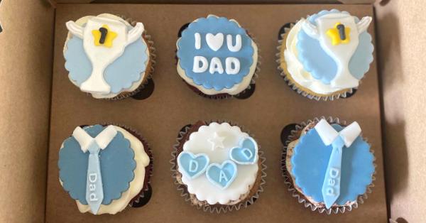 Father's Day Cupcake Box Basel